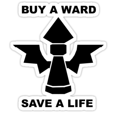 Tous les joursdes milliers d'invocateurs meurent par manque de vision. Faites un geste pour votre planète, achetez une ward. Chaque ward achetée, une vie de sauvée.