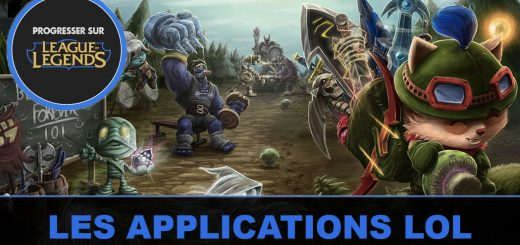 Les applications League of Legends sur Mobile